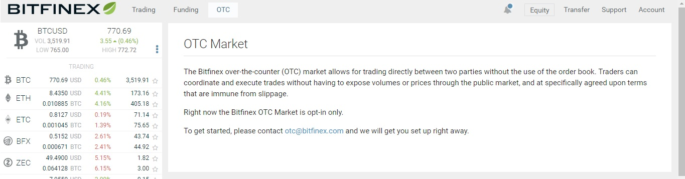 bitcoin otc marketplace